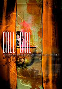 CALL GIRL COMIC alternative cover 1