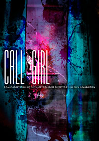 CALL GIRL COMIC alternative cover 2