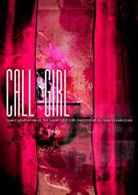 CALL GIRL COMIC alternative cover 4
