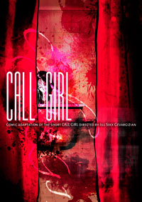 CALL GIRL COMIC COVER
